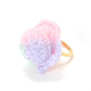 J-Fashion / Jewelry & Hair Accessories / Q-pot. Parlor Cotton Candy Ice Cream Ring