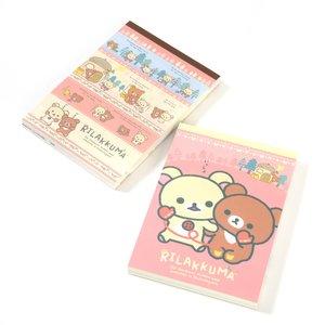 Stationery / Notebooks & Memo Pads / Rilakkuma Tebukuro o Todokeni Memo Pads