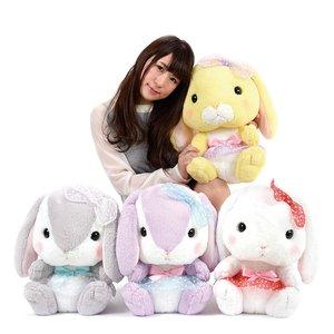 Pote Usa Loppy Tulle Rabbit Plush Collection (Big)