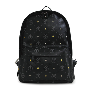 Kumatan Faux Leather Backpack