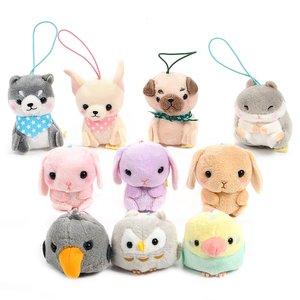 Puchimaru All-Stars Animal Plush Collection (Mini Strap)
