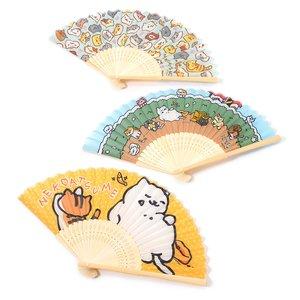 Neko Atsume Folding Fans