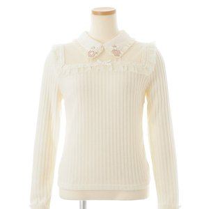 LIZ LISA Perfume Bottle Ribbed Top