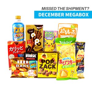 Home & Kitchen / Snacks / December 2016 Megabox (Snacks Only)