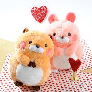 Plushies / Plushie Sets / Plush Pairs: Beaver & Rabbit