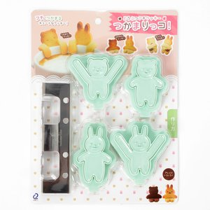 Home & Kitchen / Cookware & Kitchen Tools / Tsukamarikko! Animal Cookie Cutters