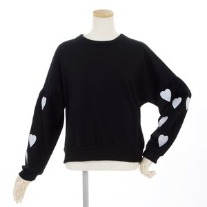 milklim Plenty of Hearts Short Sweatshirt