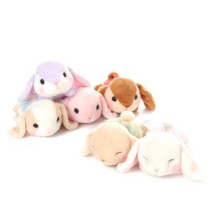 Pote Usa Loppy Gorone Hiyori Rabbit Plush Collection (Standard)