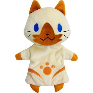 Otaku Apparel & Cosplay / Other Accessories / Plushies / Medium Plushies / Plushie Accessories / Monster Hunter X Felyne Puppet Plush