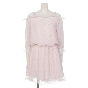 Swankiss Flower Lace Dress