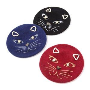 J-Fashion / Hats / Cat Face Beret