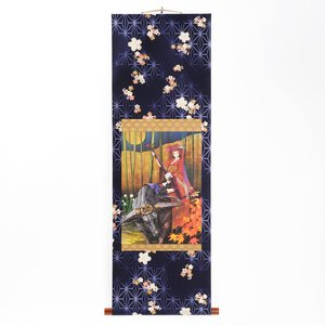 Art Prints / Tapestries / redjuice Hanging Scroll - Kimono Girl (A3 Size)