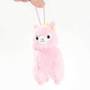 Alpacasso Velvet Ribbon Alpaca Plush Collection (Ball Chain)