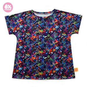 6%DOKIDOKI Neon Spectrum Big Tee