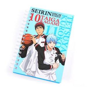Stationery / Notebooks & Memo Pads / Kuroko's Basketball Kuroko, Kagami & Tetsuya #2 Hardcover Notebook