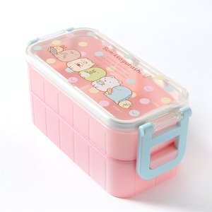 Home & Kitchen / Bento Containers / Sumikko Gurashi Lunch Market 2-Tier Complete Bento Set