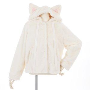 milklim Fluffy Cat Hoodie