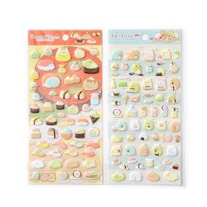Sumikko Gurashi Sushi Party Puffy Stickers