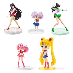 Figures & Dolls / Bishoujo Figures / Chibi Figures / Sailor Moon Figure Collector's Set