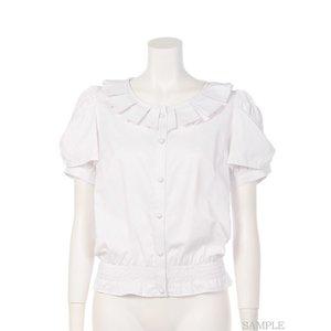 Swankiss Shell-Style Cotton Blouse