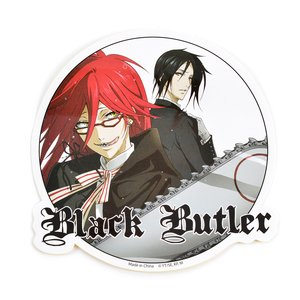 Stationery / Stickers / Black Butler Grell & Sebastian Sticker