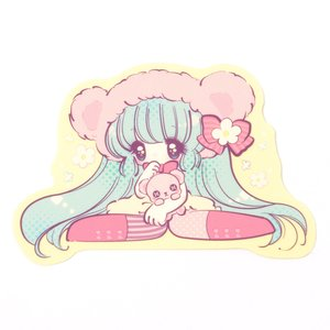 Honey Kuma-chan Sticker