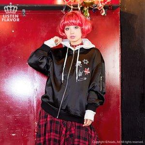 J-Fashion / Cardigans & Hoodies / LISTEN FLAVOR Heartbreaker Blouson