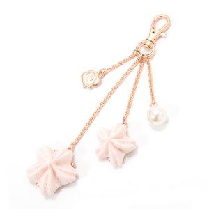 J-Fashion / Jewelry & Hair Accessories / Marché du Q-pot. Sakura Blossom Meringue Bag Charm