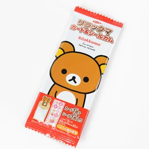 Rilakkuma Gum & Sticker Set