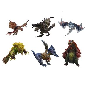 Figures & Dolls / Scale Figures / Capcom Figure Builder Monster Hunter Standard Model+ Vol.6