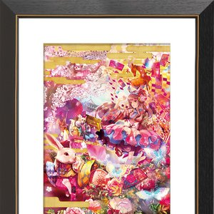 """Alice in Ancient Japan"" Chara Fine Graph Print"
