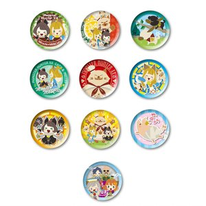 Monster Hunter XX Kati & Milsee with Friends Tin Badge Collection