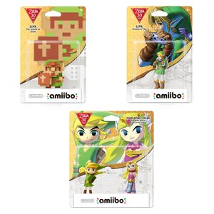 Gaming / Game Accessories / Legend of Zelda 30th Anniversary amiibo Set
