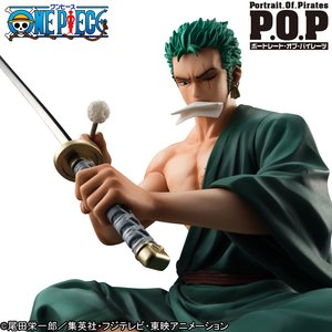 Figures & Dolls / Scale Figures / Portrait.of.Pirates One Piece S.O.C. Zoro