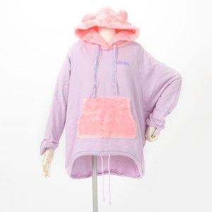 J-Fashion / Cardigans & Hoodies / milklim Transform Teddy-chan Hoodie