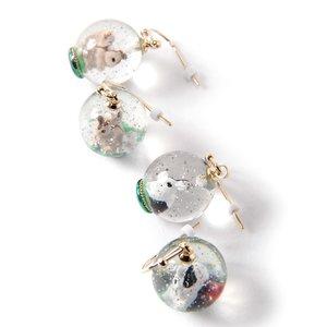J-Fashion / Jewelry & Hair Accessories / gargle Forest Snowglobe Earrings