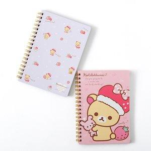 Minna Ichigo ni Naare Korilakkuma B6 Spiral Notebooks