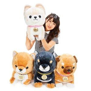 Mameshiba San Kyodai My Plate Dog Plush Collection (Big)