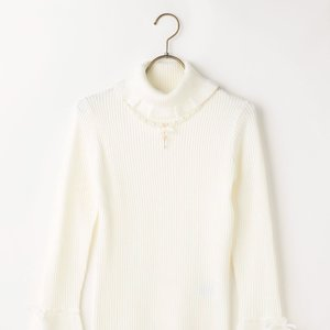 LIZ LISA Flared Sleeve Knit Turtleneck