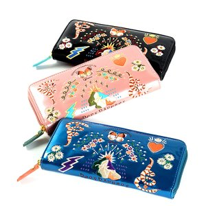 J-Fashion / Wallets & Pouches / FLAPPER Sukajan Embroidered Long Wallet