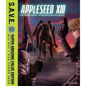 Appleseed XIII: The Complete Series S.A.V.E. Blu-ray/DVD Combo Pack
