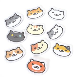 Home & Kitchen / Dishware / Neko Atsume Diecut Melamine Mini Trays Ver. 2