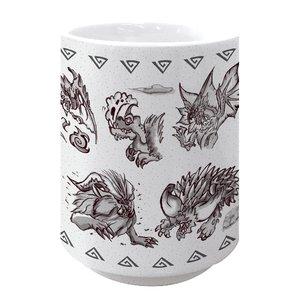 Monster Hunter: World Japanese-style Tea Cup