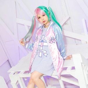 J-Fashion / Cardigans & Hoodies / LISTEN FLAVOR Angel Cherry Sukajan