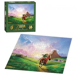 Toys & Knick-Knacks / Games / The Legend of Zelda Link's Ride Collector's Jigsaw Puzzle
