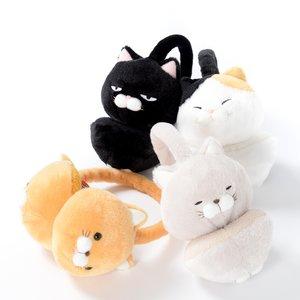 Plushies / Plushie Accessories / Hige Manjyu Cat Ear Muffs