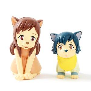 Ultra Detail Figure No. 239-240: Wolf Children - Ame & Yuki