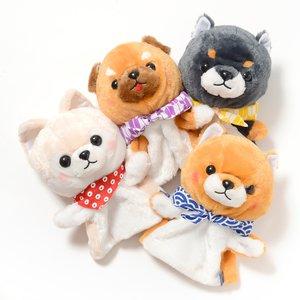 Plushies / Plushie Sets / Mameshiba San Kyodai Dog Hand Puppets