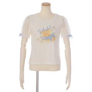 LIZ LISA Boater Print T-Shirt