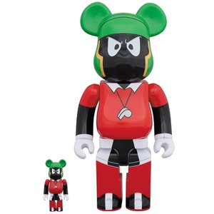 BE@RBRICK Marvin the Martian 100% & 400% Set